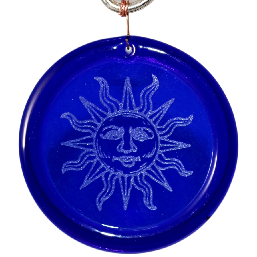 Etched Sun Suncatcher
