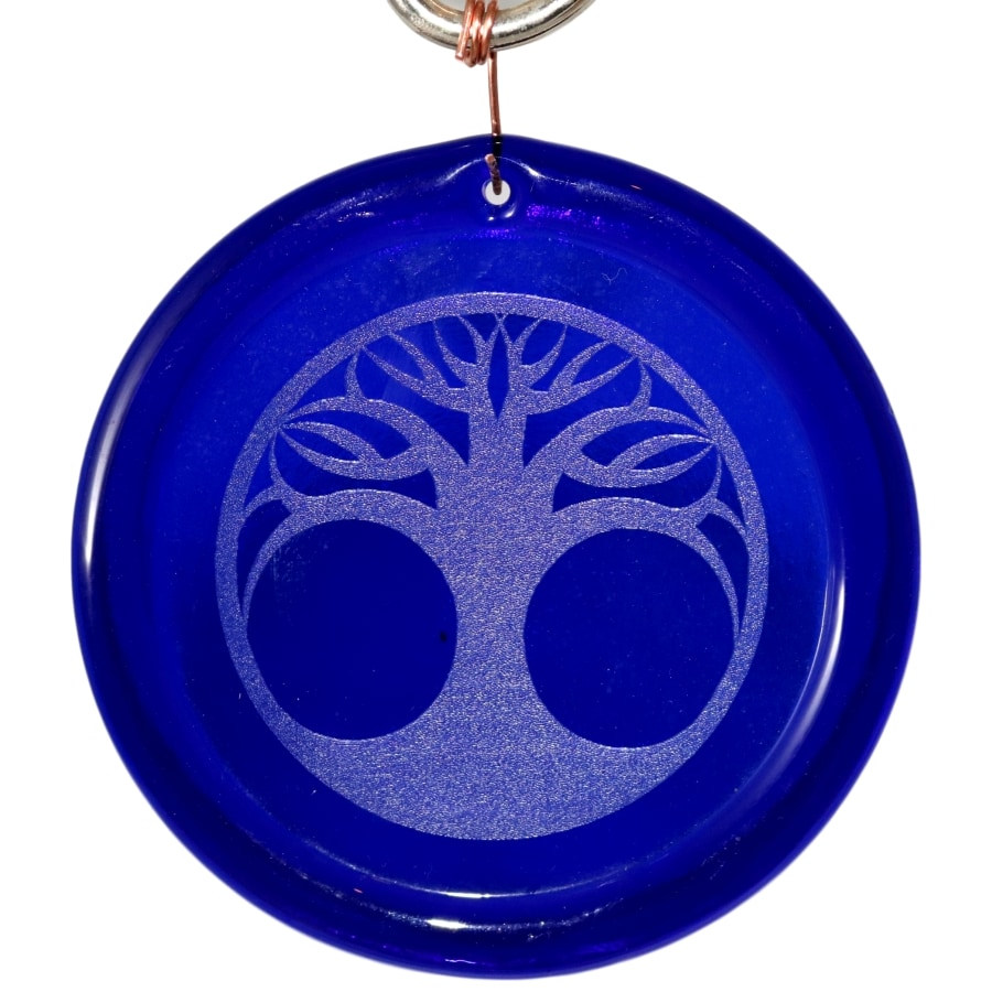 Etched Tree Of Life Suncatcher