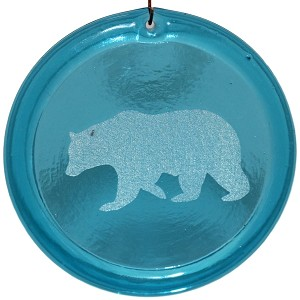 Walking Bear Suncatcher