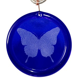 Butterfly Suncatcher Etched